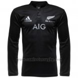 Camiseta Nueva Zelandia All Blacks Ml Rugby 2016 Local