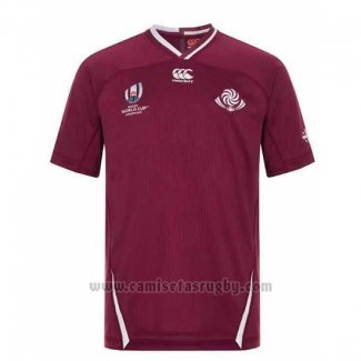 Camiseta Georgia Rugby RWC2019 Marron
