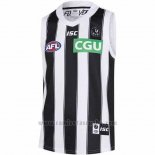Camiseta Collingwood Magpies AFL 2019 Blanco Negro