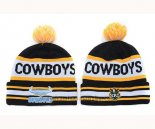 NRL Gorros North Queensland Cowboys Negro Amarillo Blanco