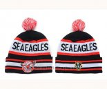 NRL Gorros Manly Se Eagles Negro Rojo Blanco