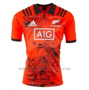 Camiseta Nueva Zelandia All Blacks Rugby 2017 Entrenamiento