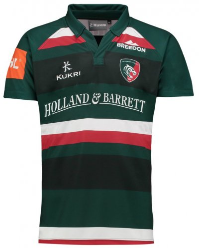Camiseta Leicester Tigers Rugby 2017-18