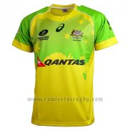 Camiseta Australia Rugby 2016 Local