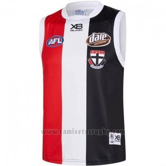 Camiseta St Kilda Saints AFL 2019 Negro