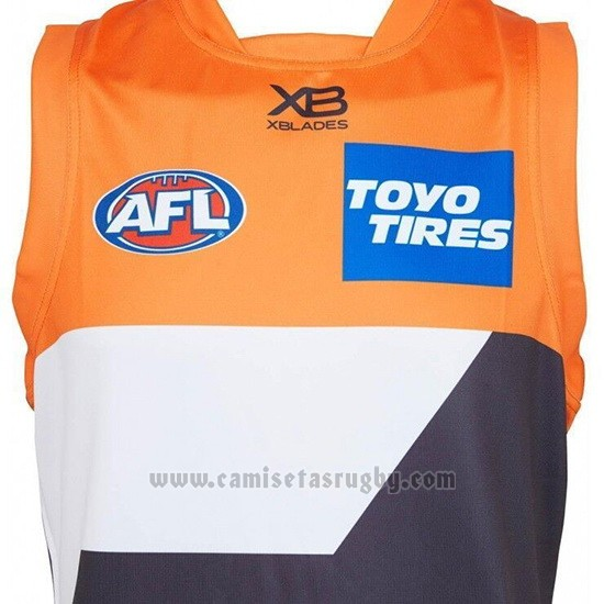 Camiseta Greater Western Sydney Giants AFL 2019 Naranja