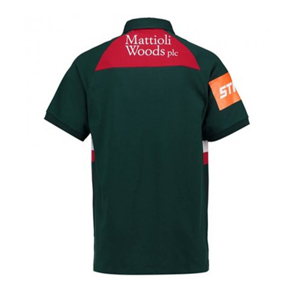 Camiseta Leicester Tigers Rugby 2017-18 Local