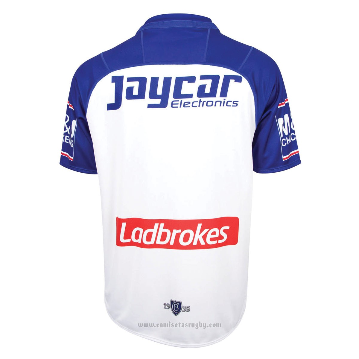 Camiseta Canterbury Bankstown Bulldogs 2018 Local