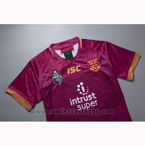 Camiseta Queensland Maroons Rugby 2019 Local