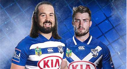 camisetas rugby Canterbury Bankstown Bulldogs 2018