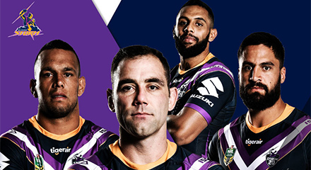 camisetas rugby Melbourne Storm 2018