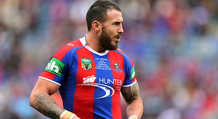 camisetas rugby Newcastle Knights 2018
