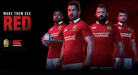 camisetas rugby British Irish Lions 2018