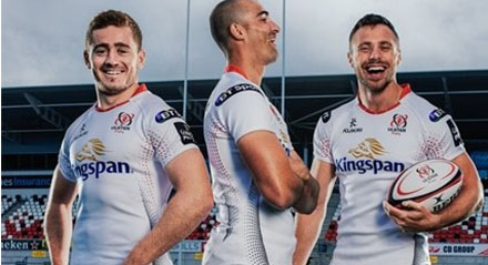 camisetas rugby Ulster 2018