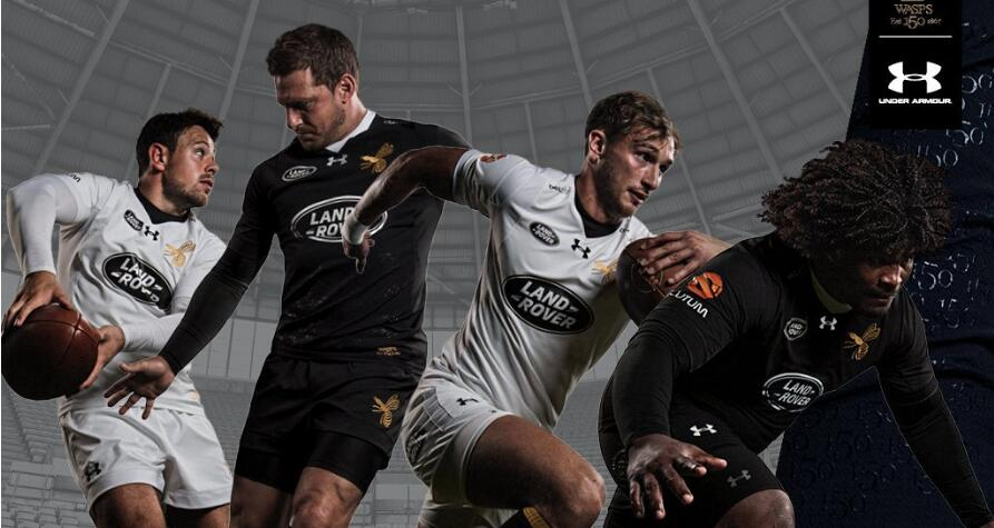 camisetas rugby Wasps 2018