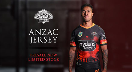 camisetas rugby Wests Tigers 2018