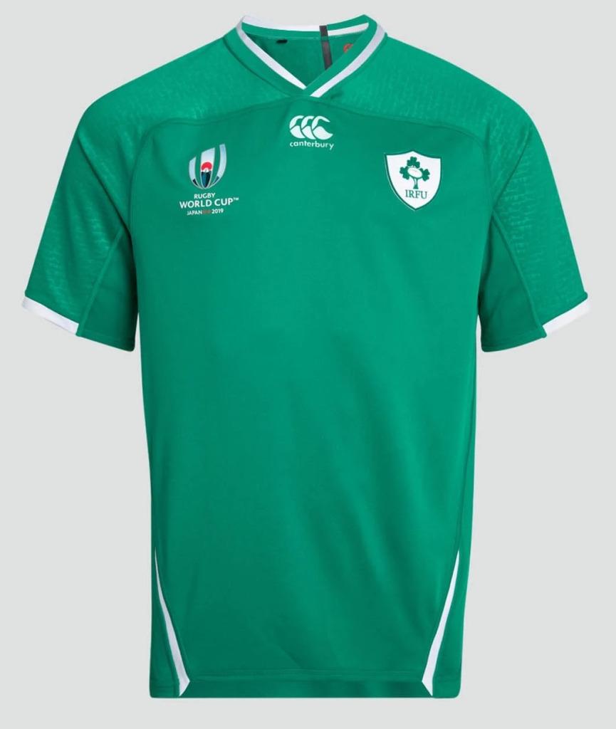 Irlanda Rugby World Cup 2019 Canterbury Home & Away Camisas
